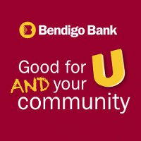 Bendigo Bank logo: Good for U and your community