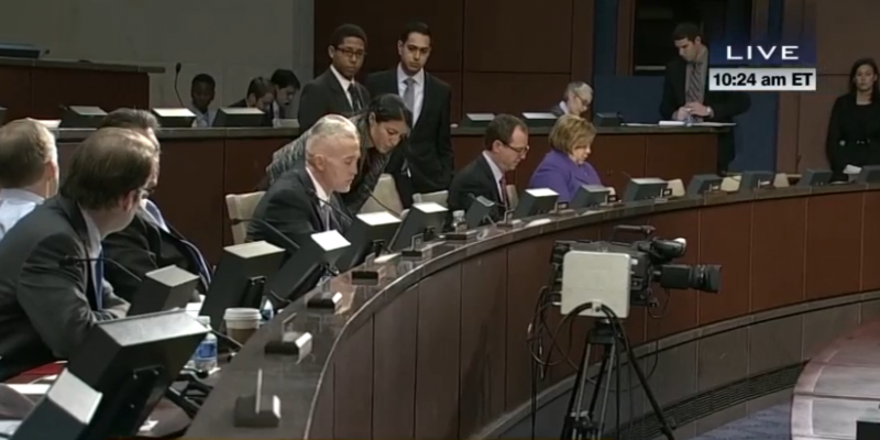 Benghazi hearing screen shot