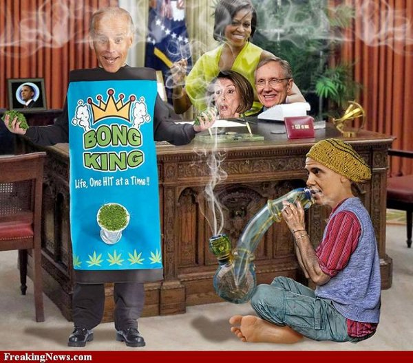 Bong King and his royal favorites