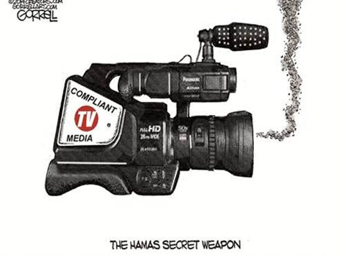 Compliant media: The Hamas secret weapon