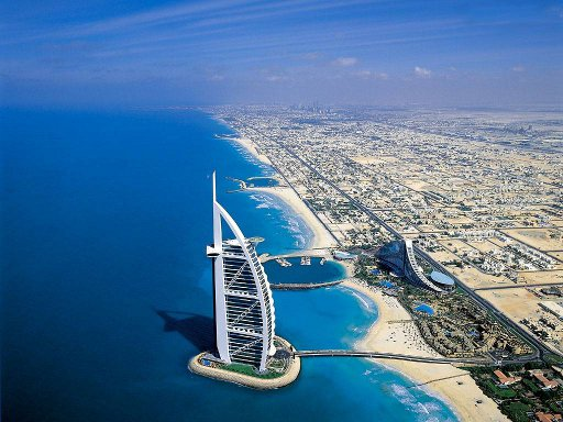 Coast of Dubai