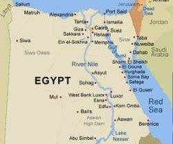 Egypt Rejects Aid From ProMuBro Qatar Accepts Aid From Kuwait - Map of qatar and egypt