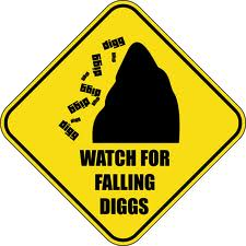 Watch out for falling Diggs
