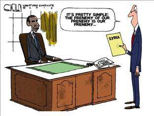 Obama advisor on Syria: 'It's pretty simple: the frenemy of our frenemy is our frenemy.'
