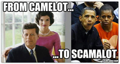 From Camelot to Scamalot