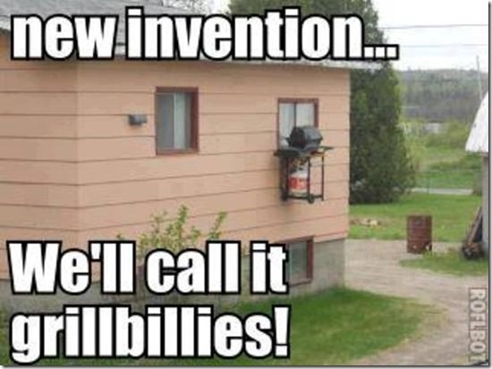 New invention: We'll call it grillbillies