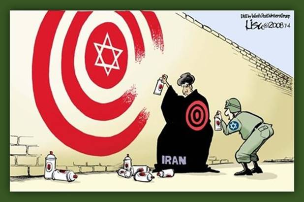 Iran targets Israel, and vice versa