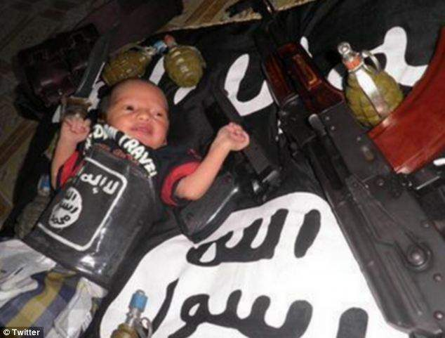 ISIS infant