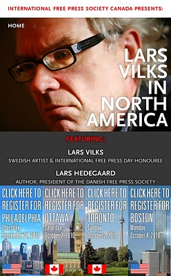 Thumbnail of Lars Vilks poster