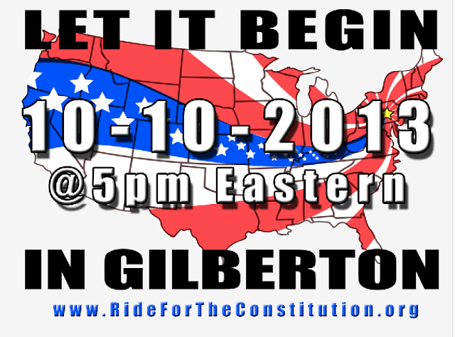 Let it begin in Gilberton, 10-10-2013, 5pm Eastern