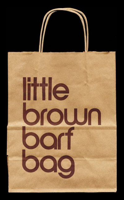 Little Brown Barf Bag