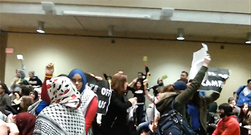 Muslim students at Ryerson jeer at Jews