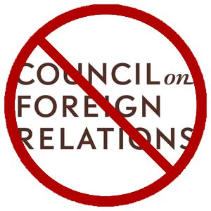 No Council on Foreign Relations