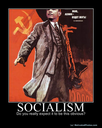 Obama as Lenin: 'Socialism: Do you really expect it to be this obvious?'