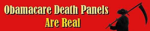Obamacare death panels are real