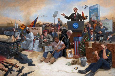 Obamanation by Jon McNaughton: Click to view