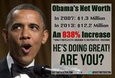 Obama's net worth: an 838 percent increase