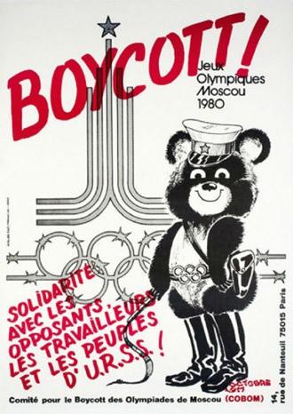 the moscow 1980 olympics boycott essay Relive the moments that went down in history from the moscow 1980 summer olympics access official videos, results, sport and athlete records.