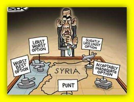 Options for Syria - none of them good