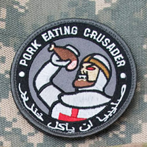 Pork-Eating Crusader Patch