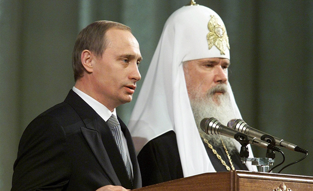 Putin and Patriarch Kirill