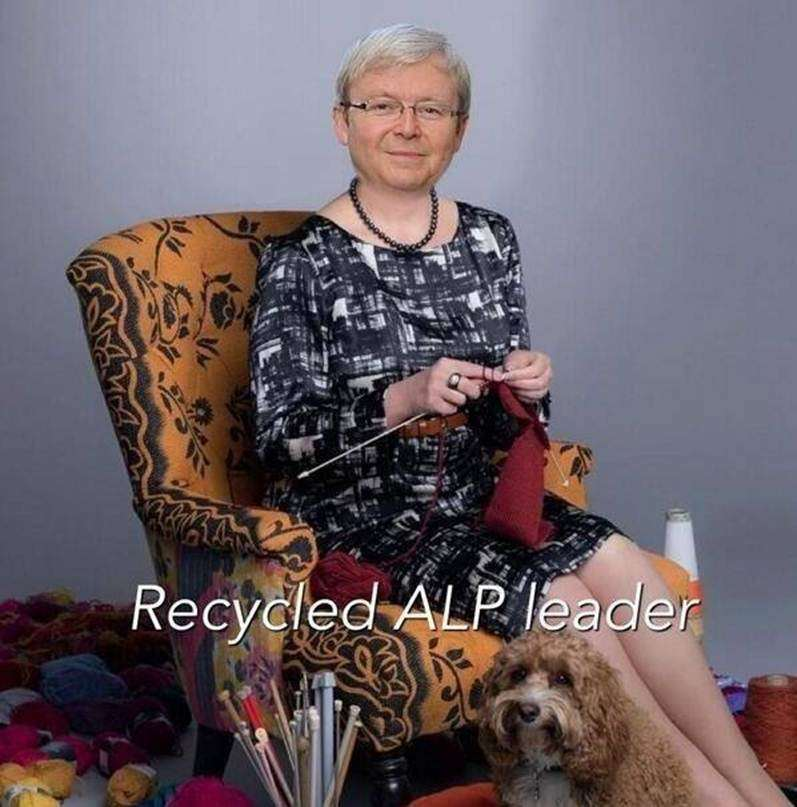 Recycled ALP leader