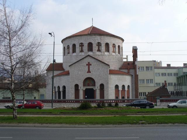 Holy Transfiguration Church in Sarajevo (Wikipedia)