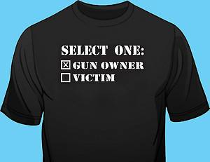 Select one: Gun owner or victim