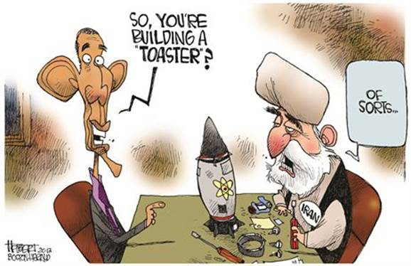Obama: 'So you're building a toaster?' Khamenei: 'Of sorts'