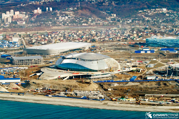 Sochi Olympic park, official photo