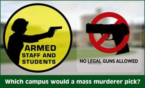 Which campus would a mass murderer pick?